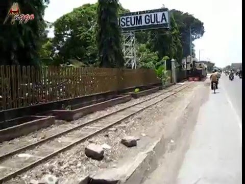 Kereta Uap Wisata PG Gondang Baru di Klaten