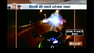 Caught On Camera: High-Speed Race Kills 24-Year-Old Super Biker In Central Delhi