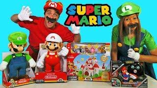 Super Mario Toy Challenge + Mario and Luigi !    Toy Review    Konas2002