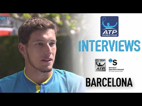 Carreno Busta Talks About The State Of Spanish Tennis Barcelona 2017