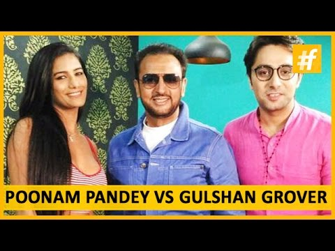 Xxx Mp4 Bombshell Poonam Pandey Vs Bad Man Gulshan Grover Live On Fame 3gp Sex