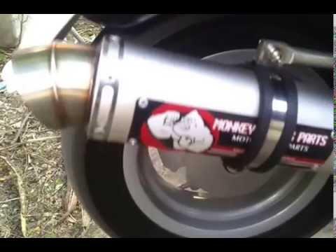 เสียงท่อ vespa by monkeypart.com