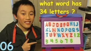 What word has 34 letters? | Weekly Jokes and Riddles Ep 6