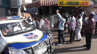 MBT leader Amjed Ullah Khan arrested on way to Osmania Univesity to attend Beef Festival