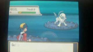 How to Catch Absol - Pokemon Heart Gold and Soul Silver