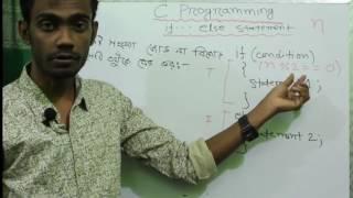 C Programming Tutorial: if-else statement   HSC ICT Bangla Tutorial