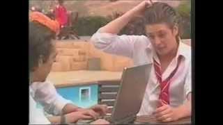 Rebelde Capitulo 172 - Giovanni, Tomás y Diego jugando en la computadora
