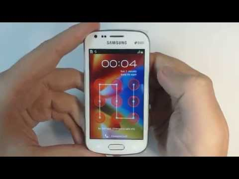 Samsung Galaxy S Duos S7562 - How to remove pattern lock by hard reset