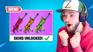 *NEW* WEAPON SKINS in Fortnite!