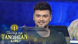 Tawag ng Tanghalan Kids: Billy is shocked to see what's beside him