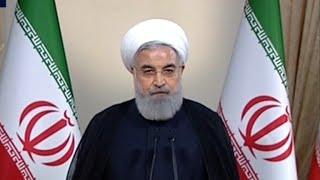 Iranian president slams Trump