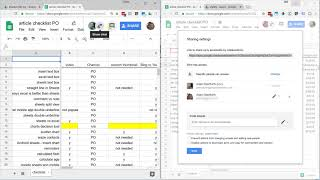 Google Sheets - Share And Protect Your Spreadsheet