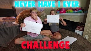 NEVER HAVE I EVER CHALLENGE WITH MY GIRLFRIEND!