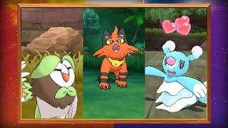 Evolved Forms of the Starter Pokémon Revealed in Pokémon Sun and Pokémon Moon!