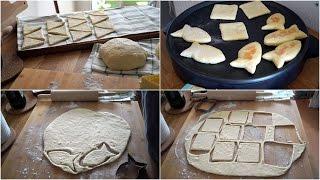 خبز المقلاة او البطبوط الصغير افكار بحشوات مختلفة باشكال متعددة وصفات  رمضان 2017