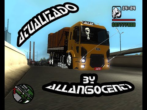 GTA SA Ford Cargo 2428 Truck 2012 by Allan 50cent