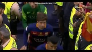 مراسم تتويج برشلونة بلقب كاس ملك اسبانيا ضد اشبيلية 2016  جوده عالية HD