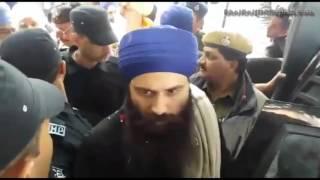Jathedar Bhai Baljit Singh Ji Khalsa Daduwal at Sisra court 05 January 2015