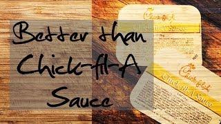TOP SECRET...Better than Chick-fil-A sauce recipe