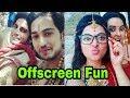 Chandranandini actors's latest offscreen moments|Rajat Tokas and Shweta Basu