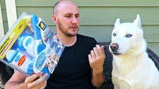 Pet Fur & Lint Brush - As Seen on TV Test