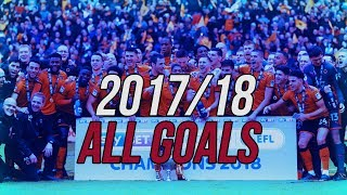 Wolves All Goals 2017/18