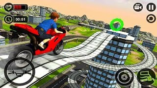 MOTORBIKE STUNT RIDER 3D GAME #Dirt Motorcycle Racer Game #Bike Games To Play #Games For Kids
