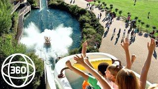 360 VR VIDEOS Water Slide Amusement Park [GoPro Fusion 360] Virtual Reality Videos 4K