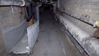 Eerie Abandoned Building Exploration - Edwin Shaw Hospital at Night