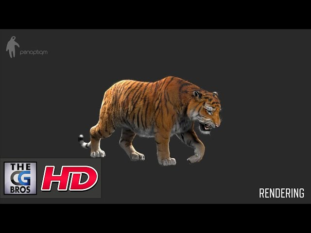 "CGI VFX Breakdowns : ""Making of Tiger for Lilyhammer""  - by Panoptiqm"
