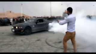 Mustang Drifting تفحيط موستانك نادي كركوك للسيارات الرياضية