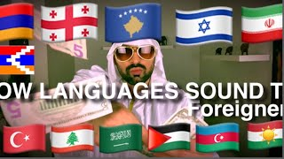How Languages sound Like To Foreigners 2