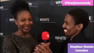 Thenjiwe interviews comedian Simphiwe Shembe