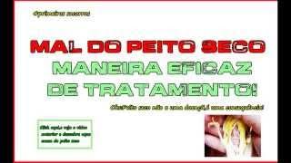 Peito seco-maneira eficaz de tratamento