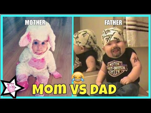 Xxx Mp4 Mom Vs Dad Baby Care Differences Between Mom And Dad Parenting 3gp Sex