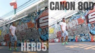 GoPro Hero5 vs Canon 80D   Video Quality Comparison