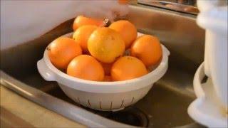 Making Orange Marmalade ( The Old Way)