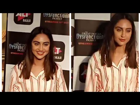 Xxx Mp4 Krystle D 39 Souza At Screening Of ALT Balaji New Web Show Quot The Great Indian Dysfunctional Family Quot 3gp Sex