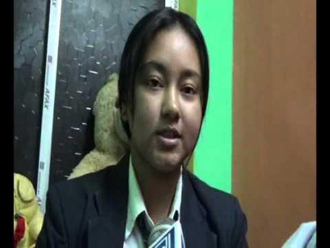 100% SCHOOL ATTENDANCE GIRL in 14 years