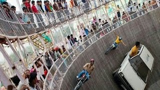 Maut ka kuwa Mot ka kuwa car and bike stunt india - Click By Mobile Phones