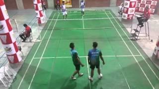 EWU Winter Smash 2016 1st Round MD Adil-Shanai (EWU) VS Saiful-Tanvir (IUB)