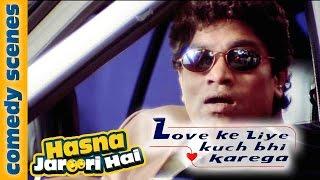 Johny Lever Comedy As Salman Khan - Hasna Zaroori Hai - Love Ke Liye Kuch Bhi Karega
