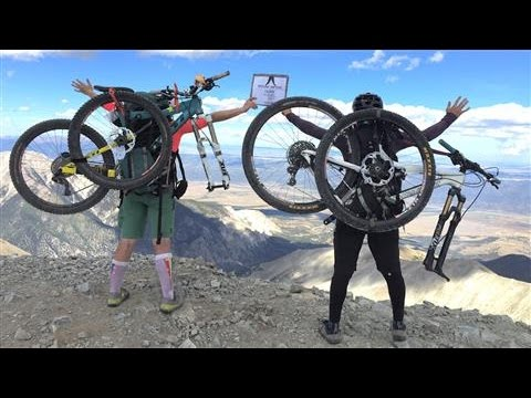 Hiking and Biking Colorado's '14ers'