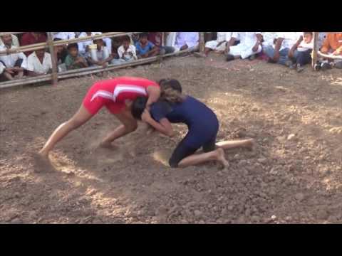 Dangal In Sanaswadi India: Best Girls Kushti: Wrestling