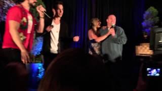 Micah Parker, Chris Wood & Chase Coleman singing