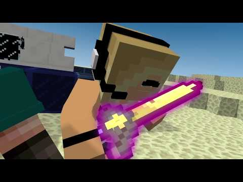 Minecraft Song ♫Girls and Secrets♫ Superheros 5 Minecraft Animations and Music Video Series
