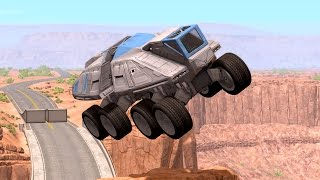 Epic High Speed Jumps #4 – BeamNG Drive