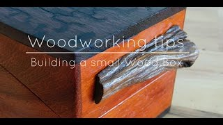 Woodworking tips building a small wood box | Izzy Swan