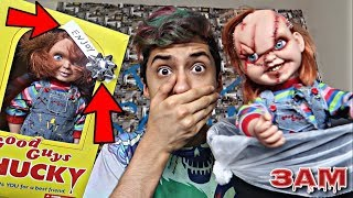 DO THROW AWAY CHUCKY DOLL AT 3AM!!! *OMG I GOT A NEW CHUCKY*