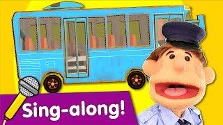 Wheels On The Bus Sing-along | Nursery Rhyme | #readalong with Super Simple Songs